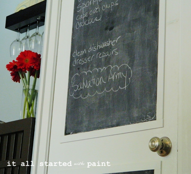 chalkboard-door-kitchen-how-to-make-own