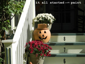 terracotta-pumpkin-halloween-decorations