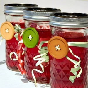 mom McGahan's cranberry jelly