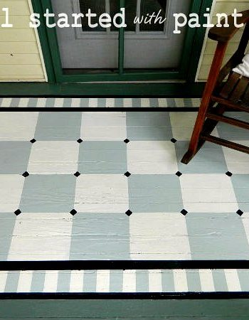 painted porch rug [saving the best for last]