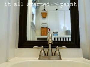 how-to-frame-bathroom-mirror