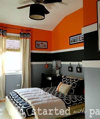 teen-boy-room-orange-gray-black