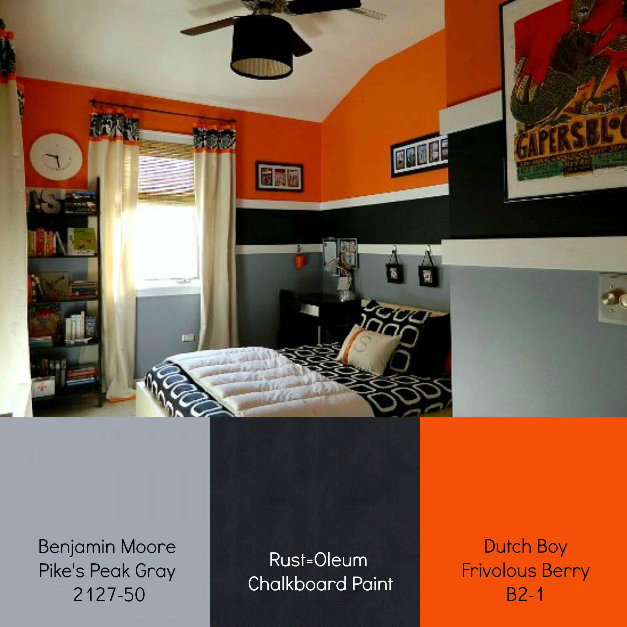 teen-boy-room-paint-colors - It All Started With Paint