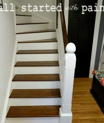 how to refinish staircase