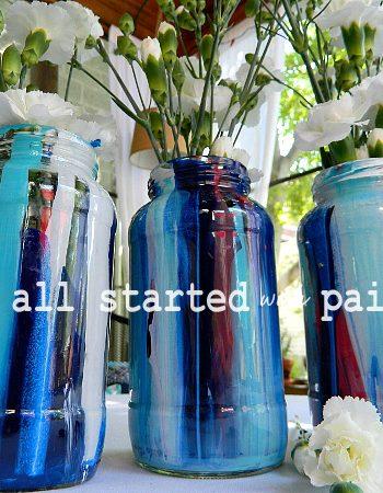 paint-drip-mason-jar