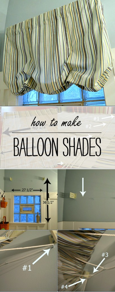 Balloon Shade How To Make Tutorial