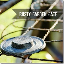 Thumbnail.Garden Gate Mantel 21 Fall in Love with…Spray Paint Link Party
