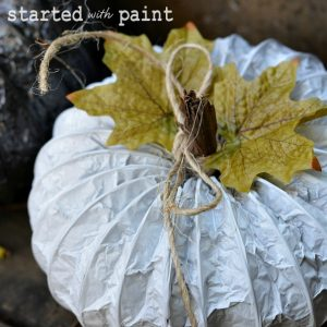 fall(ing) in love … with spray paint
