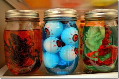 Mason Jar Fall Crafts for Halloween