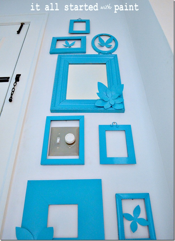 blank-frames-on-wall-painted-same-color-brighter
