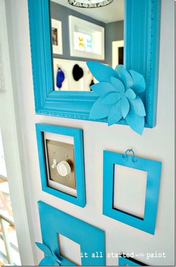 blank-picture-frames-painted-turquoise-on-wall-brighter
