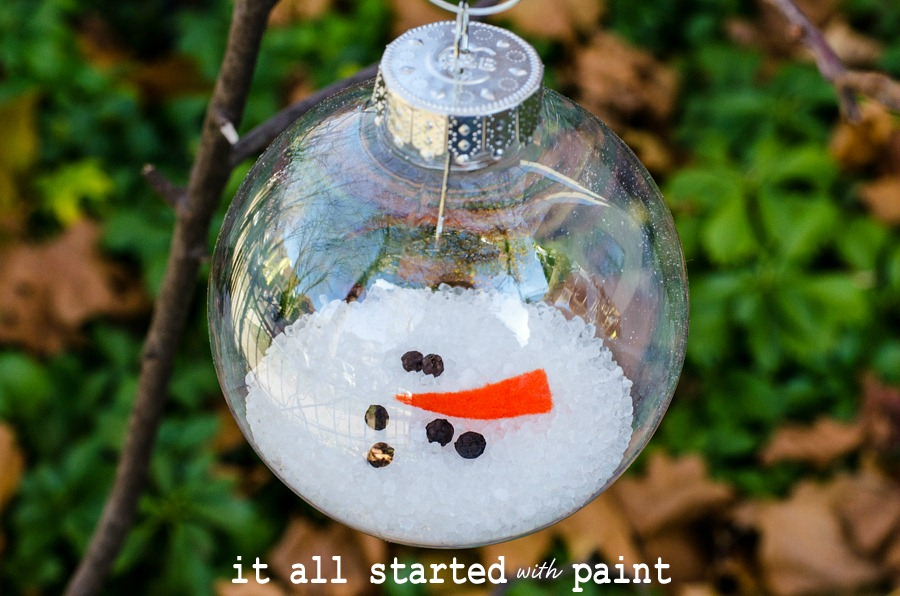 Decorating Glass Ball Ornaments Unique Melted Snowman Ornament Decorating Inspiration