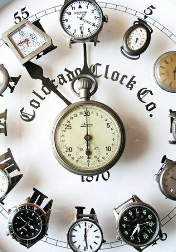 13 diy 'off the wall' wall clock ideas