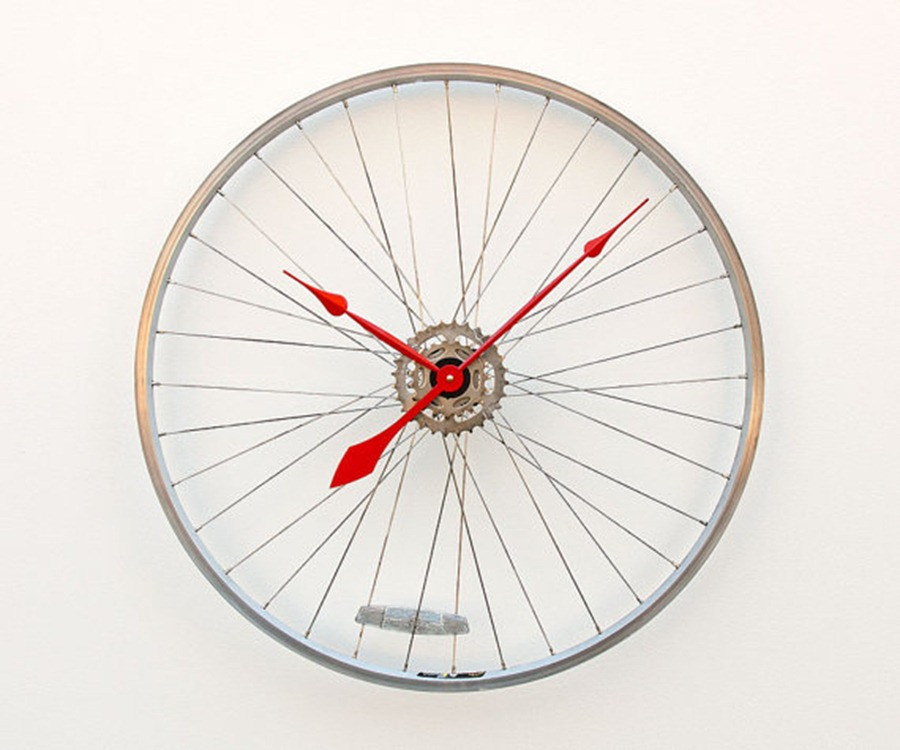 clock-recycled-bicycle-wheel-clock-on-etsy