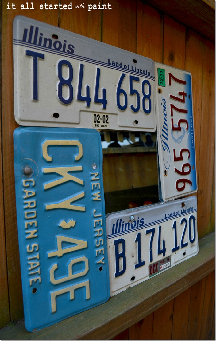 license-plate-mirror-illinois-recycled-plate