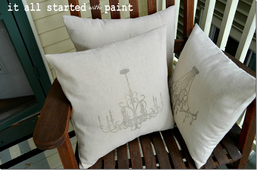 pillow-with-chandelier-graphic-transfer-cotton