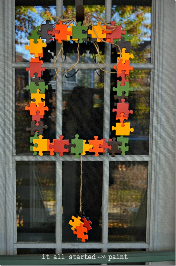 puzzle-piece-fall-wreath