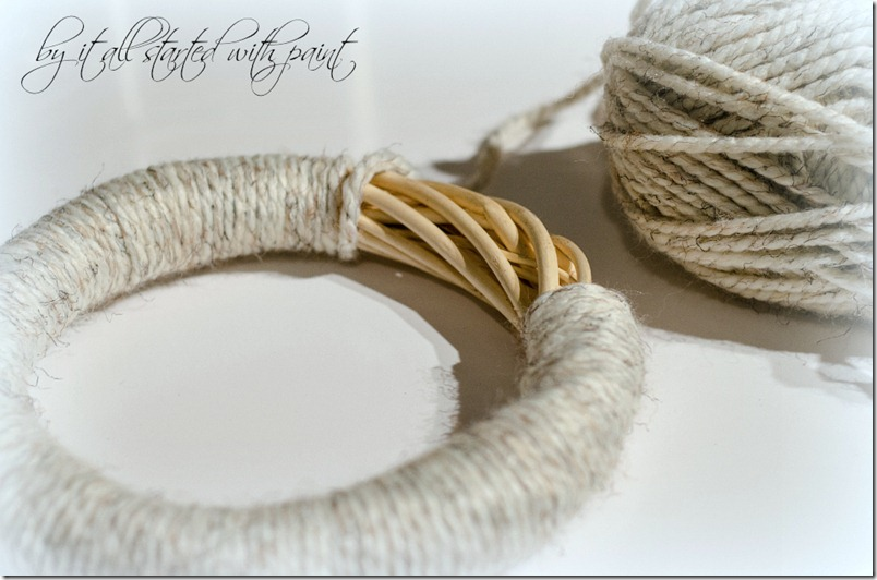 Anthropologie Tufted Wool Wreath How To 2