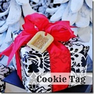 Holiday Gift Wrap Ideas Cookie Tag Thistlewood Farms[5]