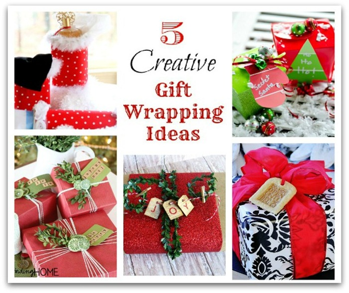 Christmas gift wrapping ideas five creative gift wrapping ideas spiritdancerdesigns Images