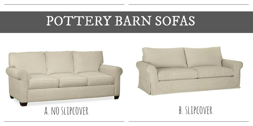 Pottery Barn Sofa Selections