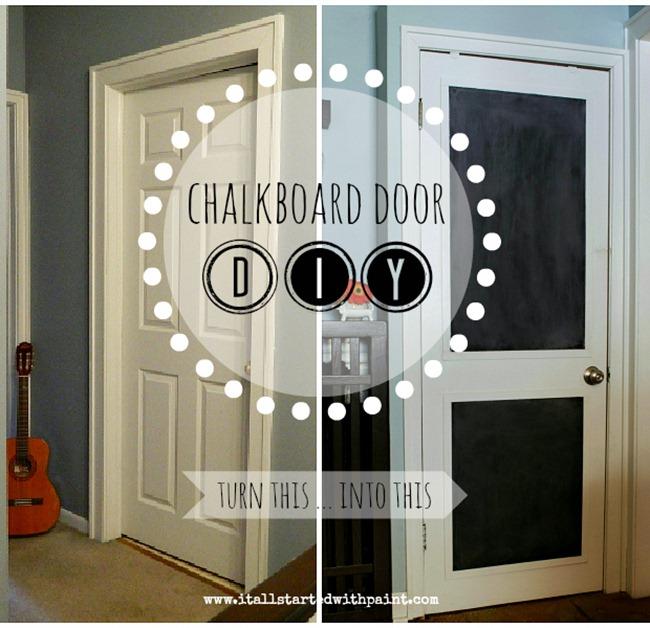 chalkboard door … refreshed