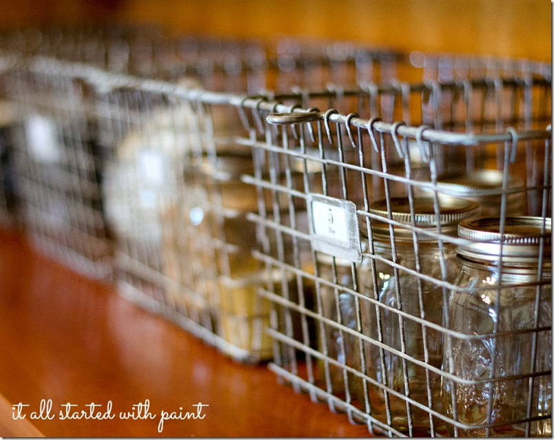 How To Make New Locker Baskets Look Vintage