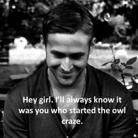 Ryan Gosling Hey Girl hey girl. - It All Sta...