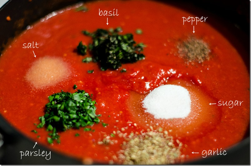 Red Sauce Recipe-ingredients