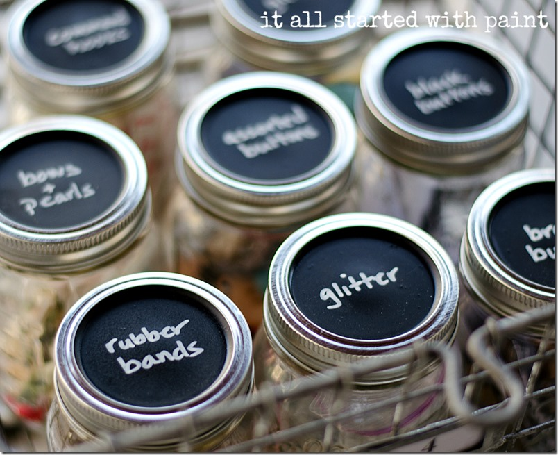mason-jar-craft-storage-with-chalkboard-paint-lids