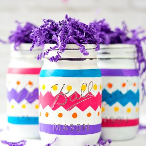 Mason jar projects mason jar craft for easter negle Image collections