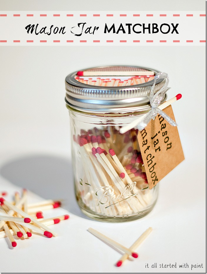 mason-jar-match-box label