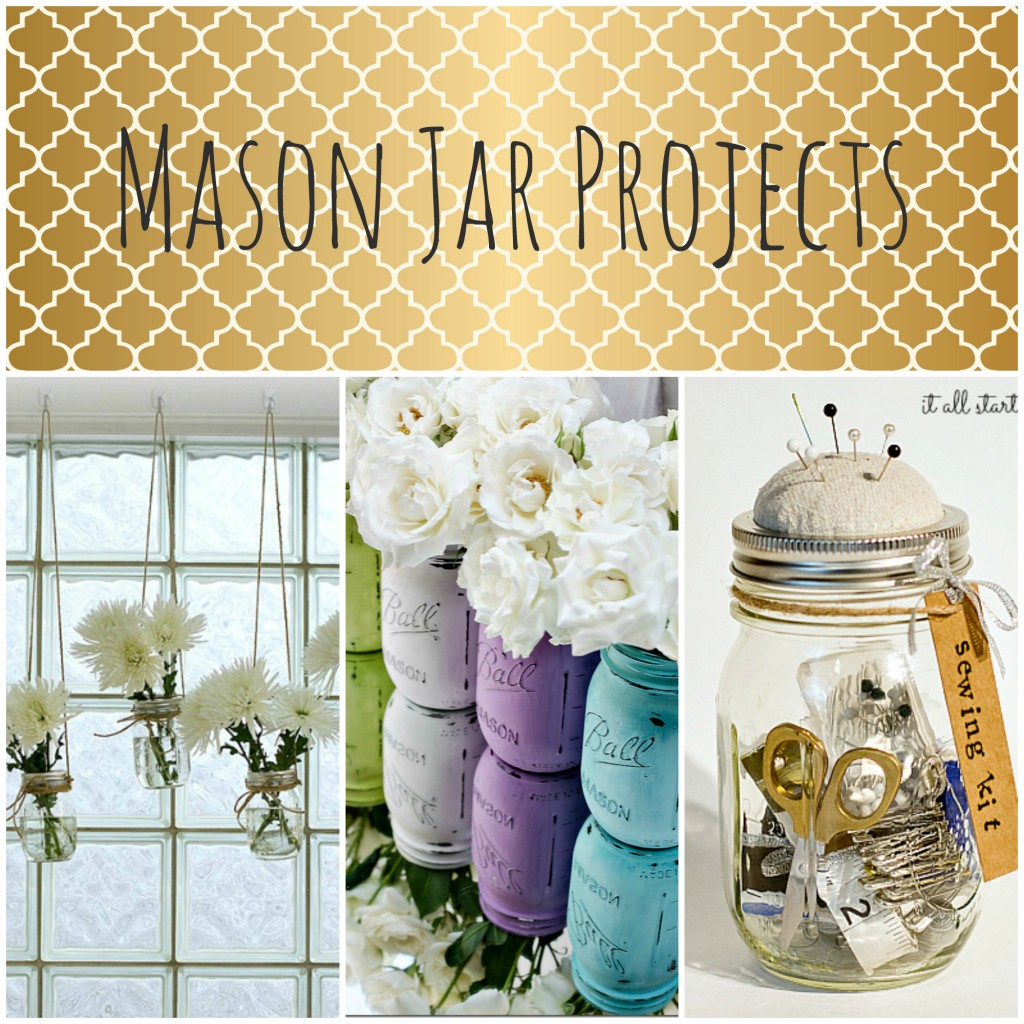 Mason Jar Window Treatment It All Started With Paint