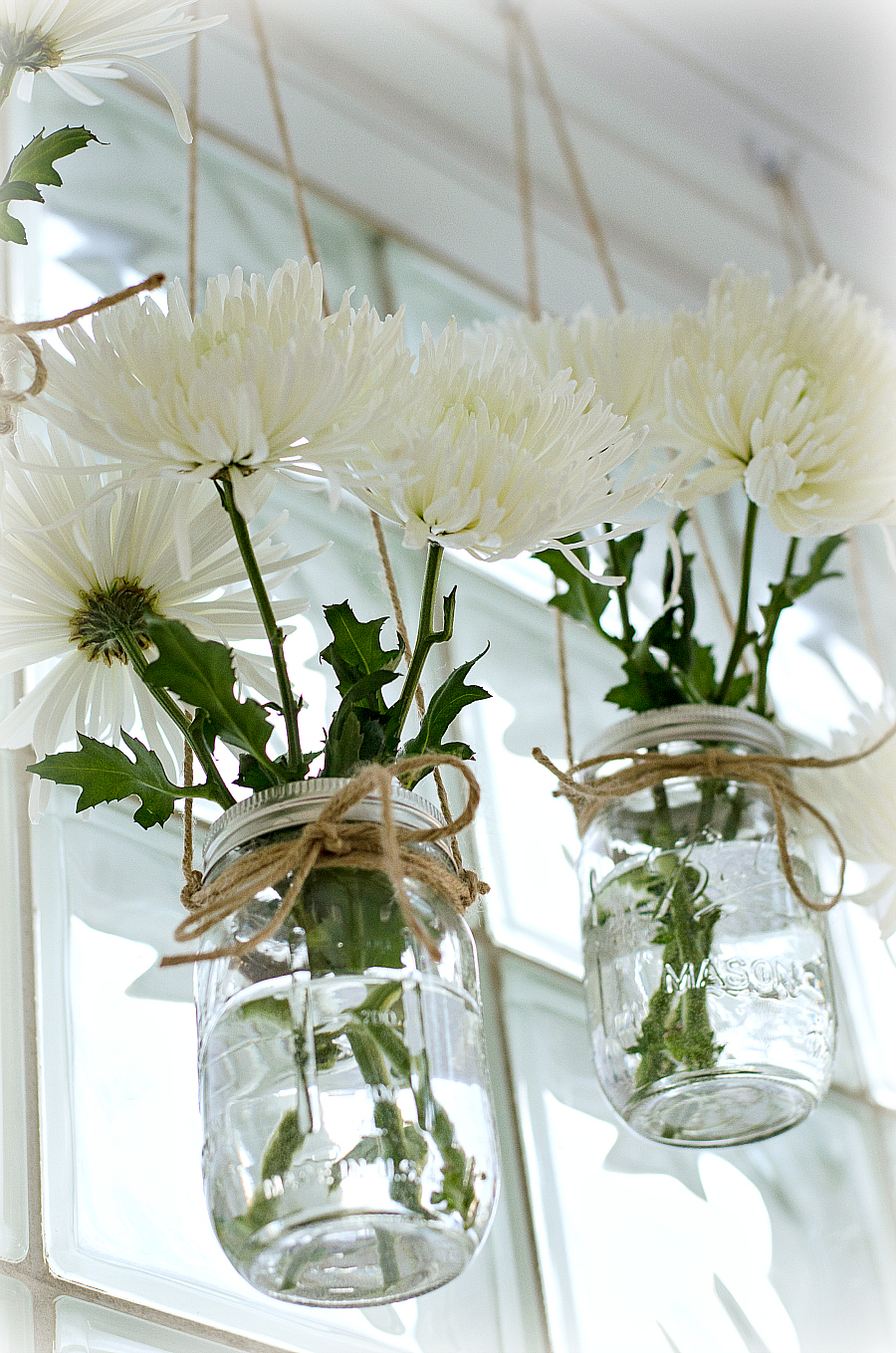 Mason Jar Craft Ideas - Mason Jar Vases