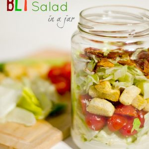 salad in a jar