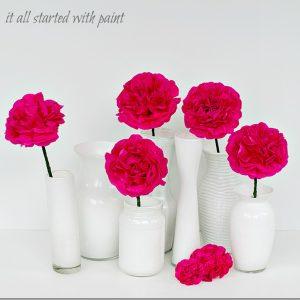 ceramic-look vases