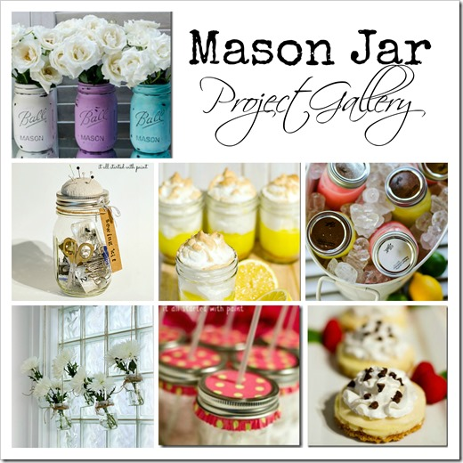 Mason jar projects for Projects to do with mason jars