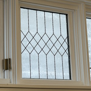 Leaded Glass Window: How To Make Faux