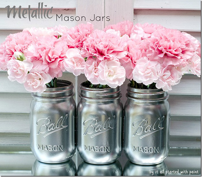 masson-jar-painted-silver