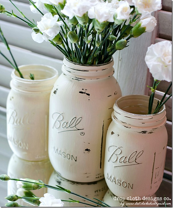 Annie_Sloan_Chalk_paint_Mason_Jars_for_Weddings-4