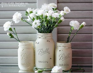 painted-distressed-mason-jar