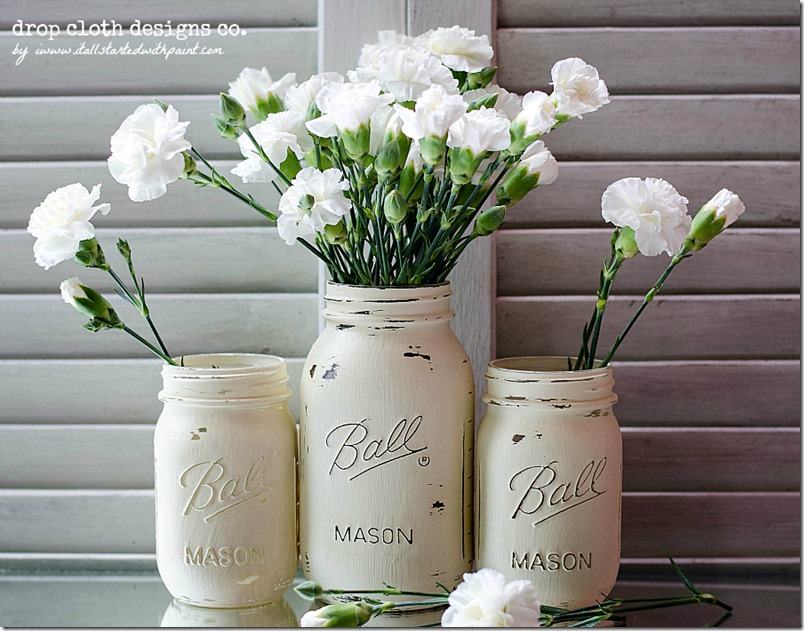 Annie_Sloan_Chalk_paint_Mason_Jars_for_Weddings