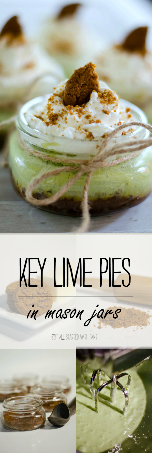 Key Lime Pie in Mason Jar Recipe