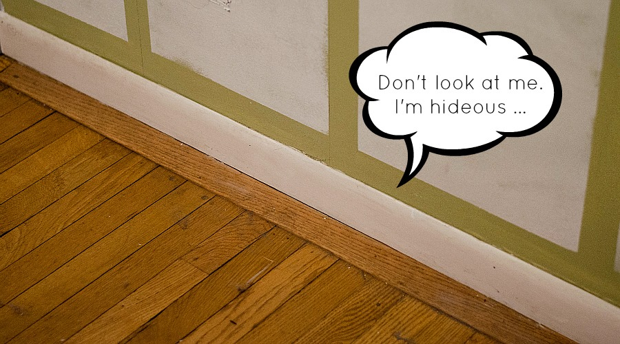 Easy Fix To Beef Up Baseboards