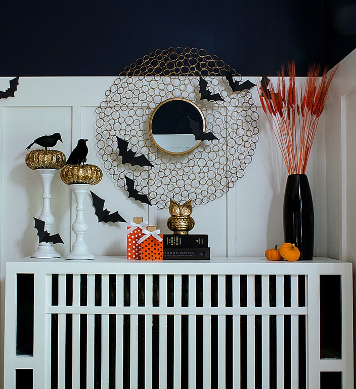 non tacky halloween decorating for the elegant home abode - Elegant Halloween Decor