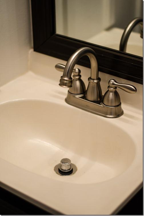 Painted Bathroom Sink-6