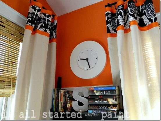 Drop Cloth Curtain Tutorial