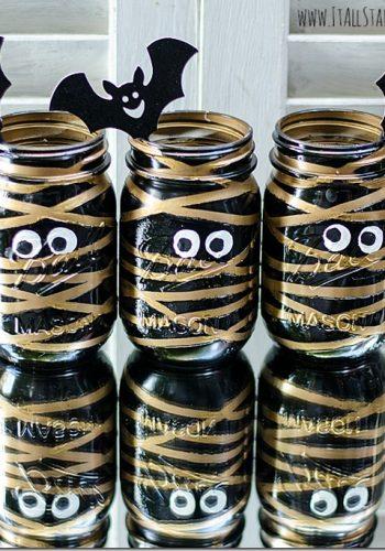 Mummy Mason Jars