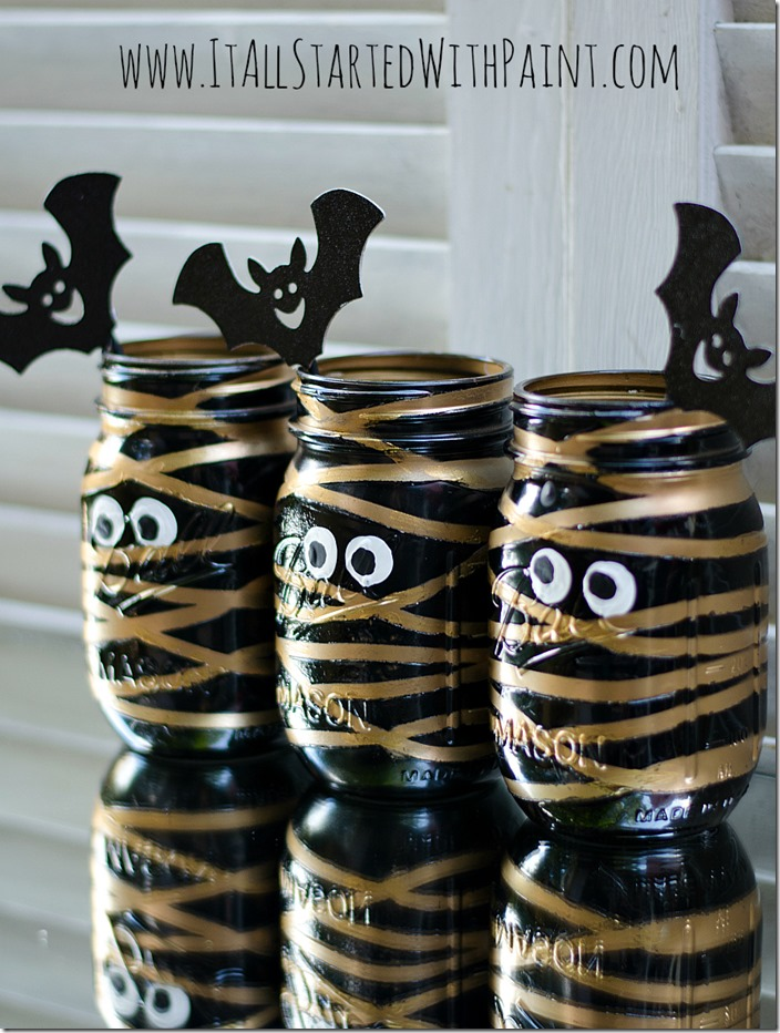 mummy-mason-jars-painted-7 watermarked