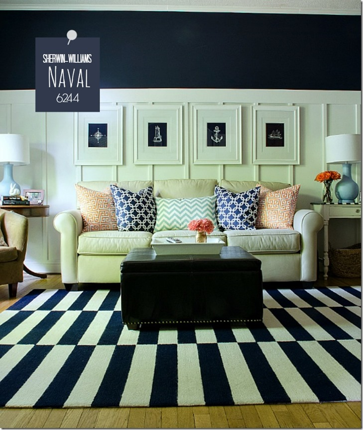 navy-white-living-room-board-batten-naval-sherwin-williams-paint